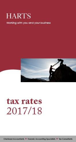 Harts Accountants Tax Rates