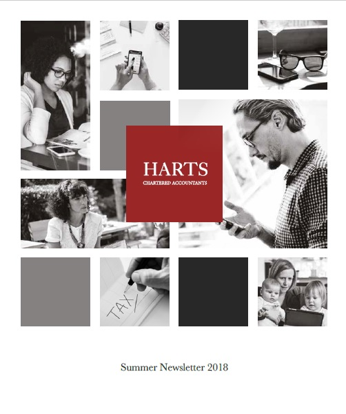 Harts Summer Newsletter 2018