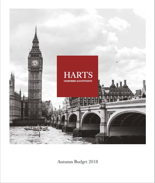 Autumn Budget 2018 Harts Accountants