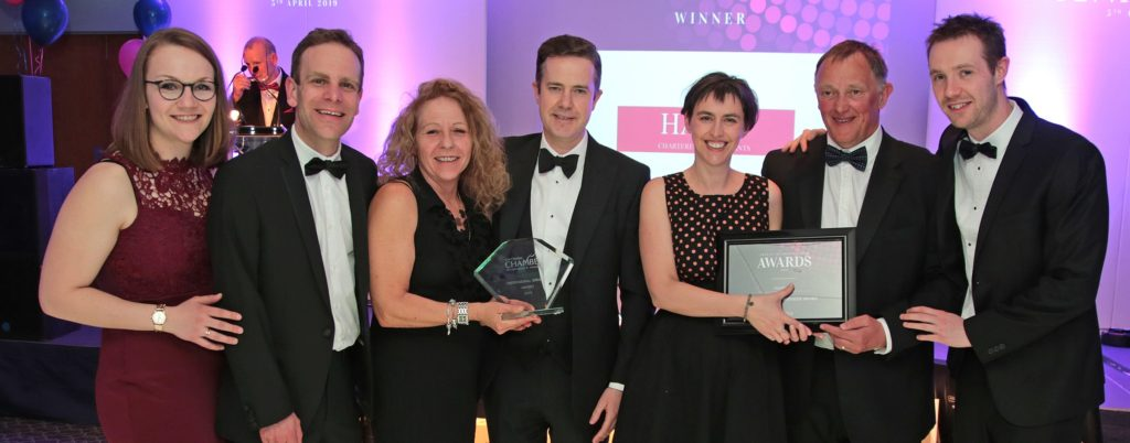 East Cheshire Chamber of Commerce Awards 2019 Harts Accountants