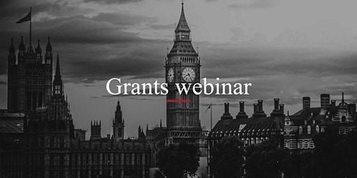 Grants Webinar - Harts